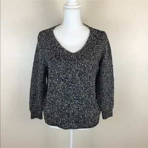 Eileen Fisher Marled Knit Sweater